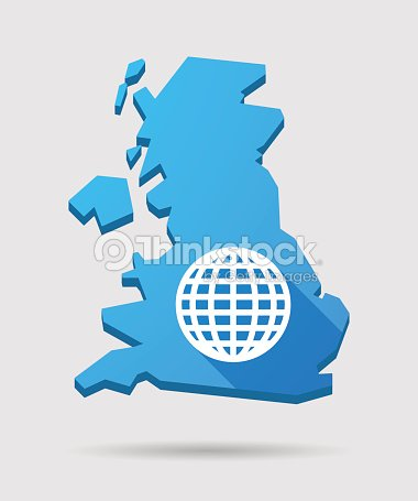 Uk map icon with a world globe vector art thinkstock uk map icon with a world globe vector art gumiabroncs Image collections