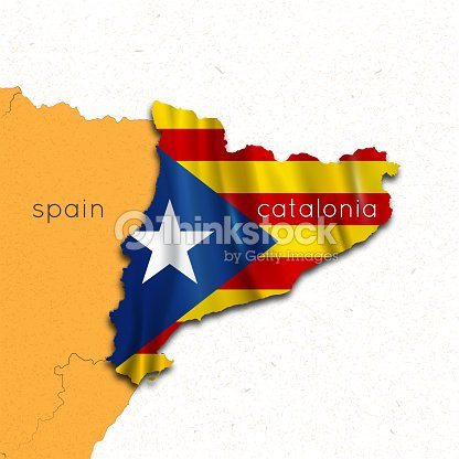 Map Of Spain And Catalonia.Map Of Spain And Catalonia Region Of Catalonia The Referendum On The