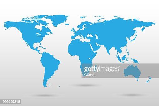 Map of the World : arte vetorial