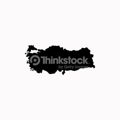Map Of Turkey Vector Icon Vector Icon Vector Art   Thinkstock