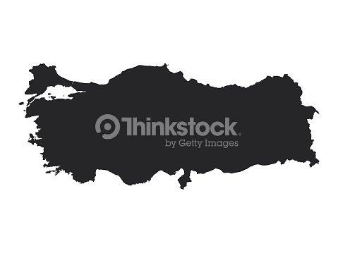 Map Of Turkey Vector Art | Thinkstock
