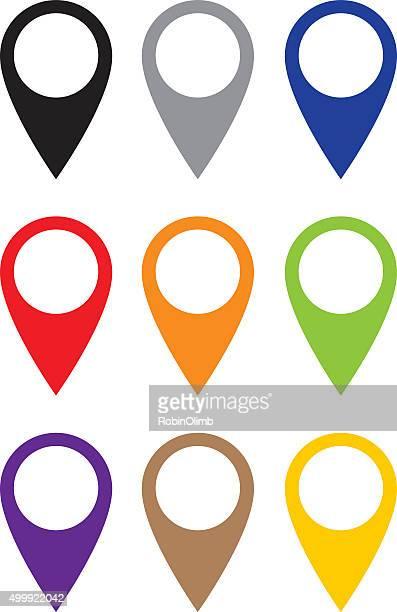 Map Pointer Set