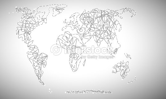 Map political abstract of the world vector art thinkstock map political abstract of the world vector art gumiabroncs Image collections