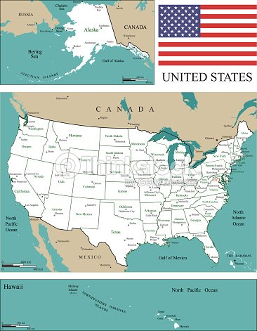Usa Map Scale Usa Map With States And Capitals And Major Cities ...