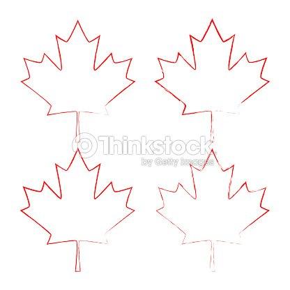 Maple Leaf Vector Canada Symbol Maple Leaf Vector Art Thinkstock