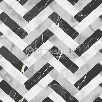 Marble Luxury Herringbone Seamless Pattern : stock vector