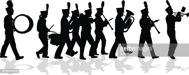 Marching Vector Art an...