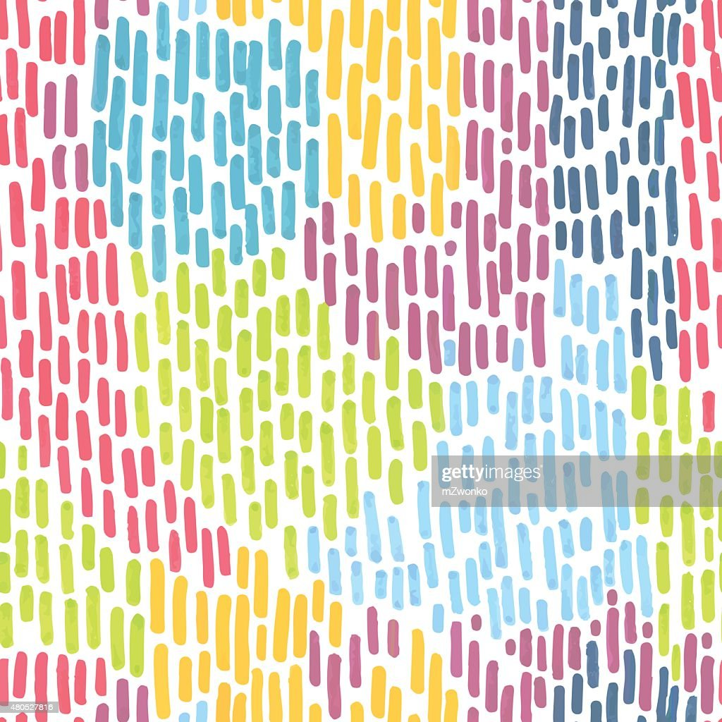 Marker stroke pattern : Vector Art