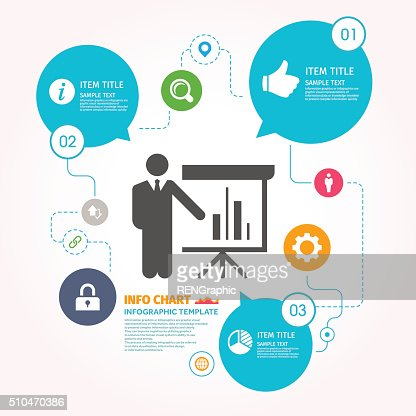 Market Analysis Vector Icon Graphic Infographic Template Vector