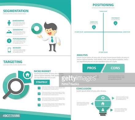 stp marketing businessman infographic elements presentation, Powerpoint templates