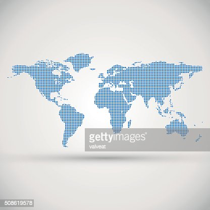 Marketing design of Earth, globe as presentation sample : Vector Art