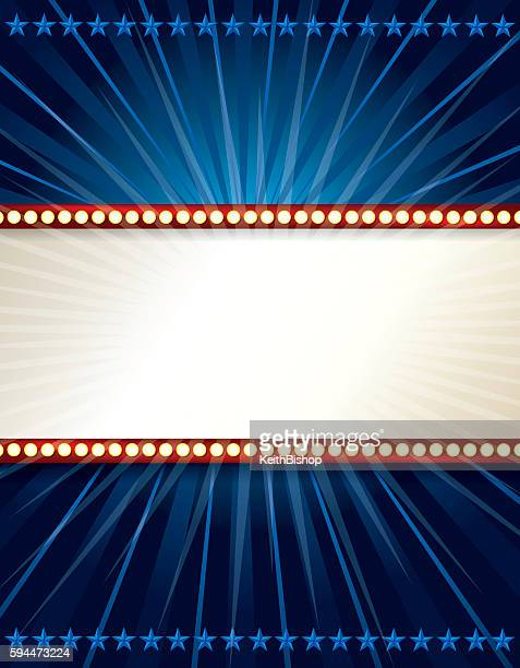 Marquee Lights Background