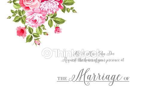 Marriage invitation card vector art thinkstock marriage invitation card vector art stopboris Gallery