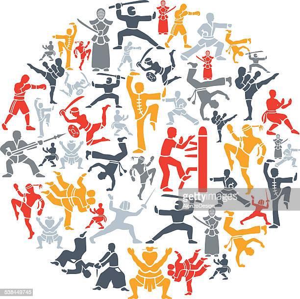 Martial Arts Collage