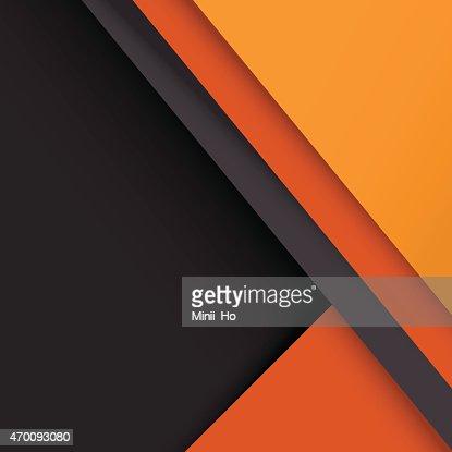 Design Papier Peint Gris Orange Clipart Vectoriel Thinkstock