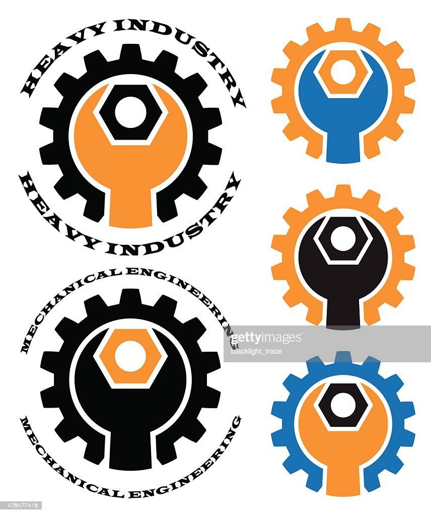 mechanical engineering vector art thinkstock rh thinkstockphotos com mechanical engineering logo images mechanical engineering logo design