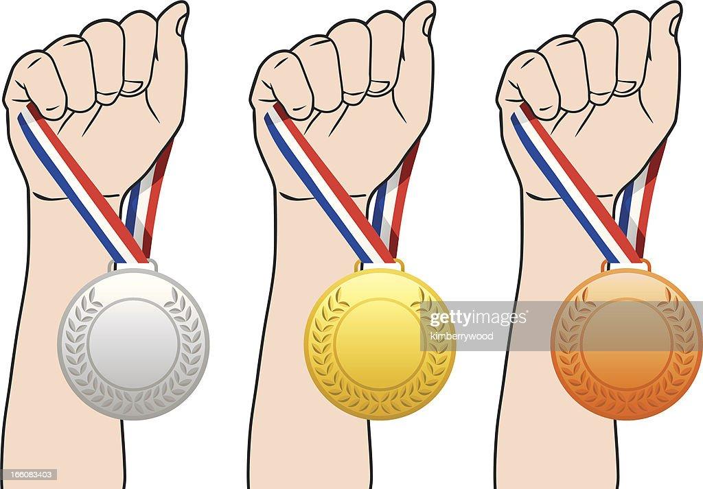 Medal : Vector Art