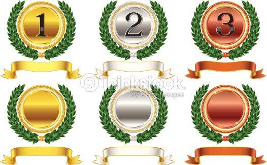 Medalla Arte Vectorial