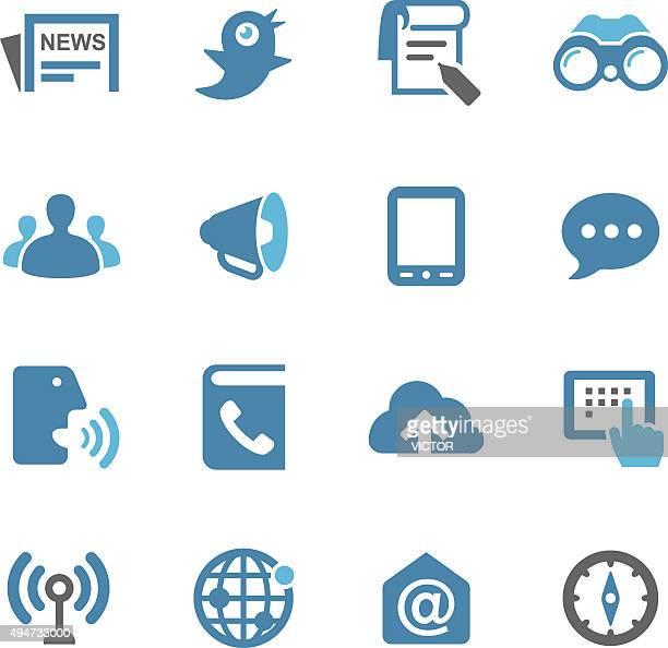 Media Icons - Conc Series