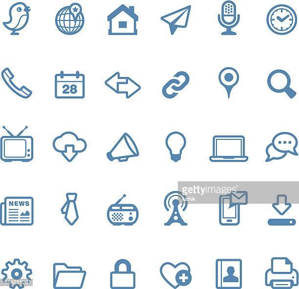 Media icons / Linico series