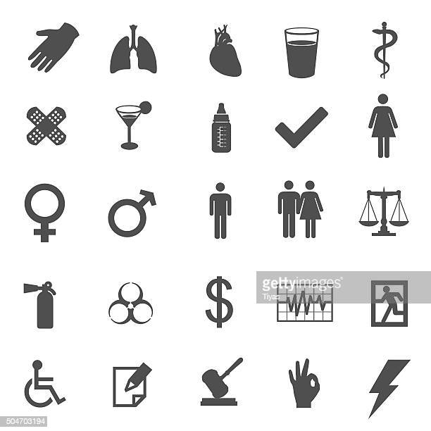 medical and healtcare vector icons
