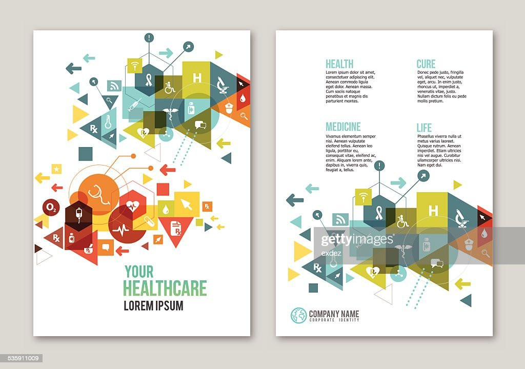 Medical design copy space : Vector Art