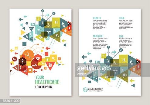 Medical design copy space : Vector Art