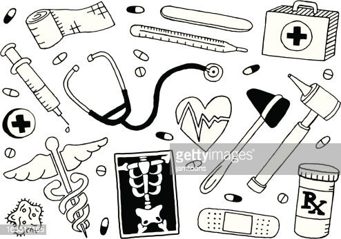Doodle Vector Art And Graphics | Getty Images School Desk Background