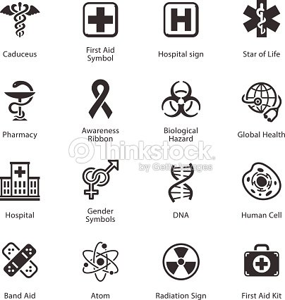 Medical Health Care Icons Set 1 Vector Art Thinkstock