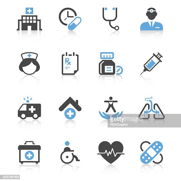 Medical Icon Set | Concise Series