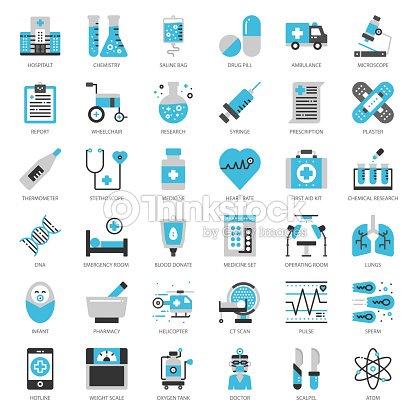 Icône médical : clipart vectoriel