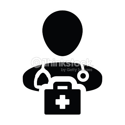 Medical Icon Vector Male Doctor Person Profile Avatar With