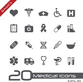 Vector icons for your website or printed media.