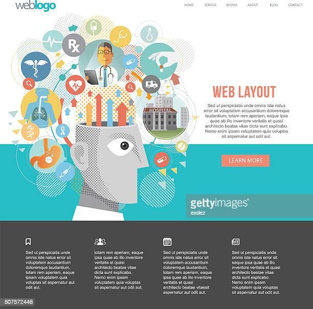 Medical ideas website design