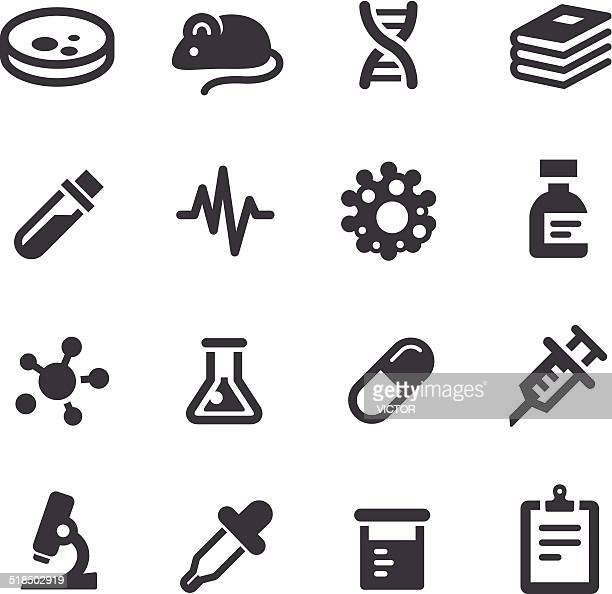 Medical Research Icons - Acme Series