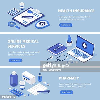 services médicaux : Clipart vectoriel