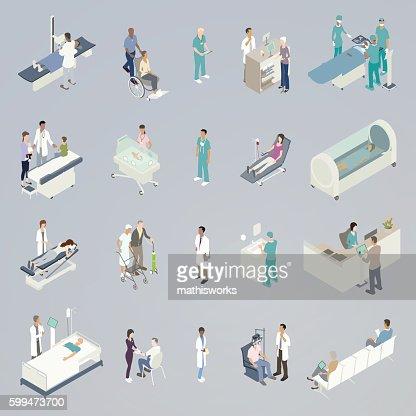 Medical Spot Illustration : Vector Art