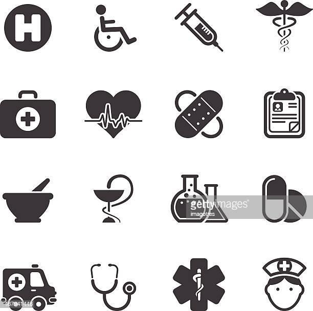 Medicina Healt icone di cura semplice