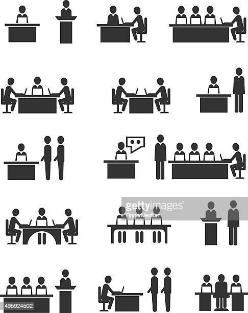 Icônes de réunion
