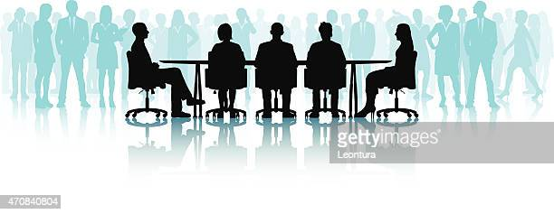 Meeting (All People are Complete and Detailed)