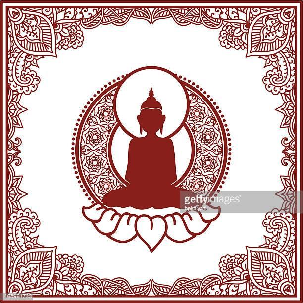 Mehndi Bouddha