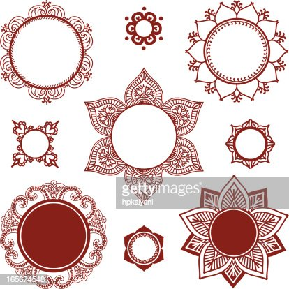 Mandala Vector Art And Graphics  Getty Images