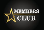 Members club, exclusive access in gold and silver