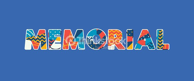 memorial concept word art illustration vector art thinkstock