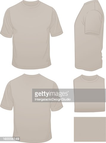 Mens blank grey tshirt with heather pattern vector art for Mens heather grey t shirt