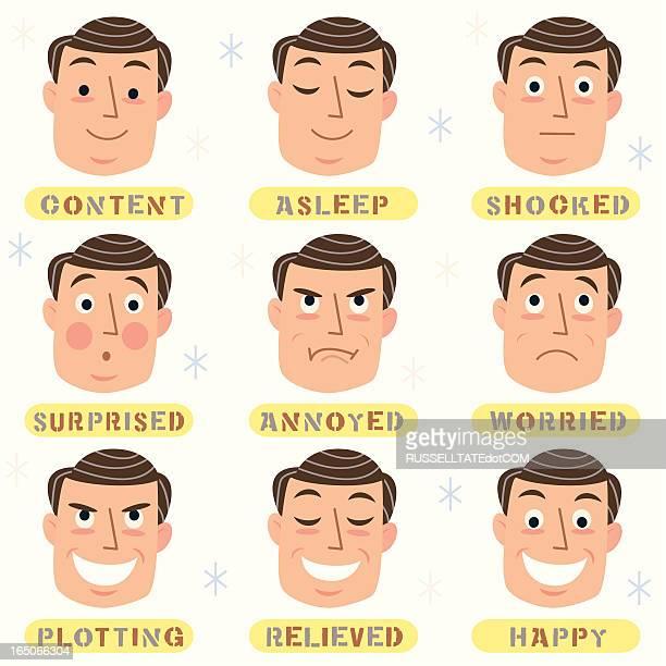 Men's Faces