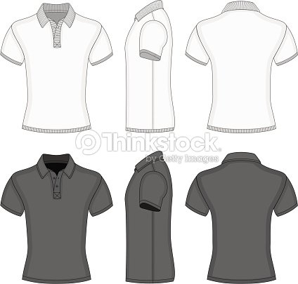 Mens Polo Shirt And Tshirt Design Templates Vector Art