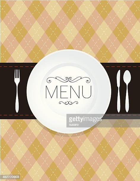 Menu Pattern Background