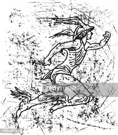 Mercury Roman God Hermes Vector Art | Getty Images