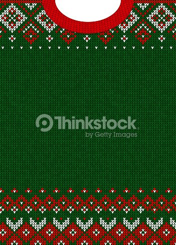 Merry Christmas and Happy New Year greeting card scandinavian ornaments : stock vector